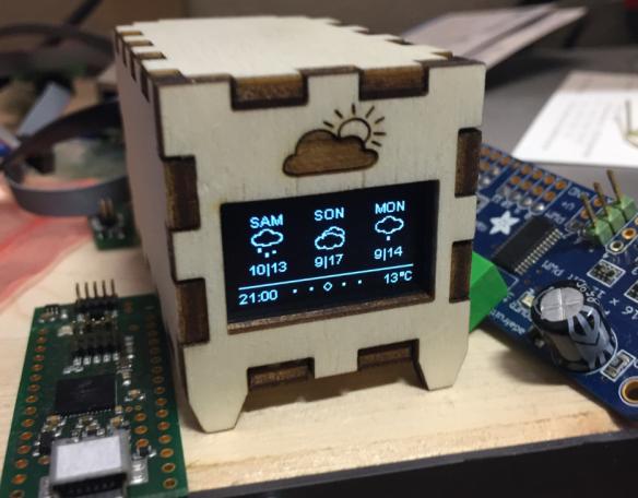 SQUIX ESP8266 Mini Weather Station