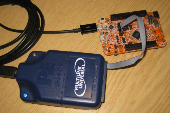 Using P&E Multilink Universal to restore the OpenSDA Bootloader on NXP FRDM-K22F Board