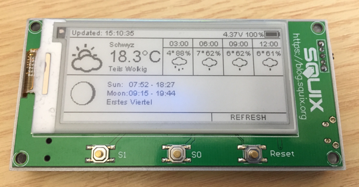 KeeYees WiFi ESP8266 Weather Station Kit for IoT with