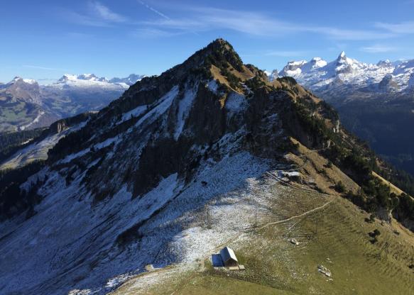 Alp Fureggen mit Huser Stock