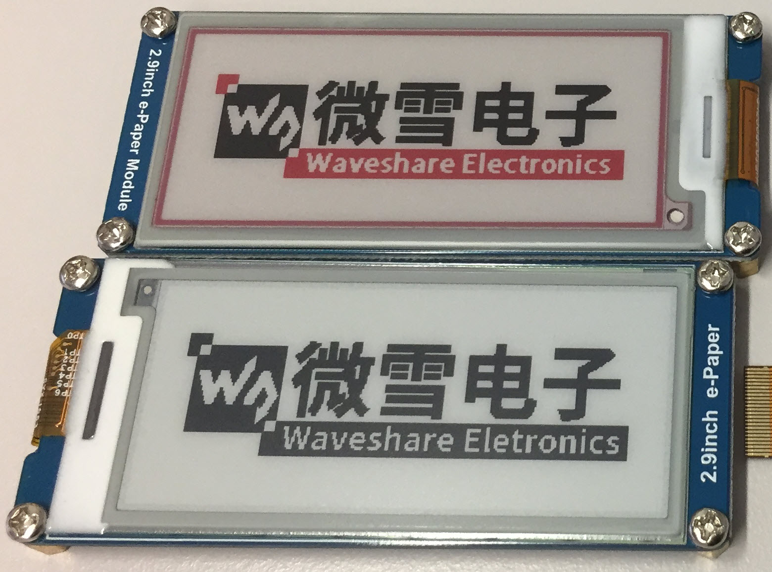 Fascinating Details of Waveshare E-Paper Displays | MCU on Eclipse