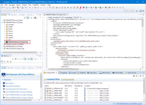 Configuration .mex File