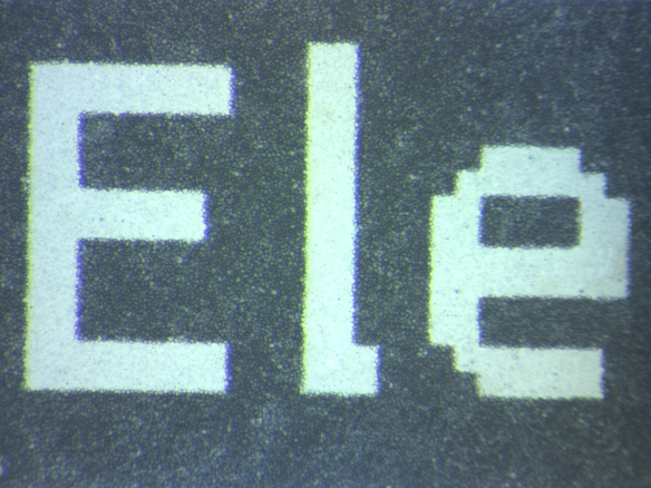 E-Paper Black/White Detail