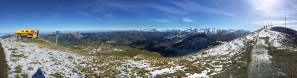 Fronalpstock gegen Glarner Alpen