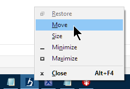 Pressing SHIFT with Right Mouse Click