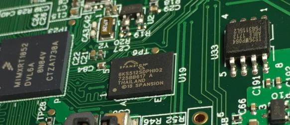 Spansion Flash Device plus SPI Flash