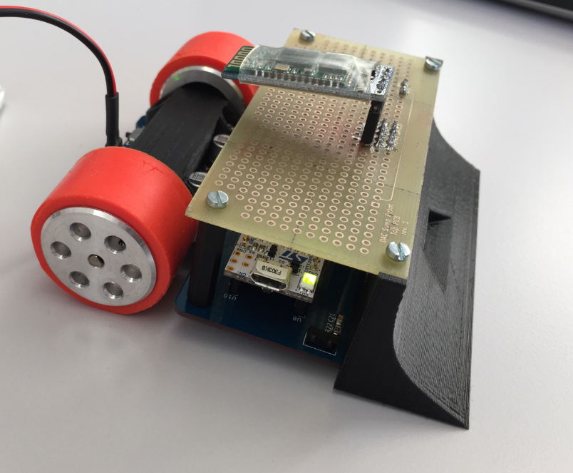 Sumo Robot with Bluetooth module