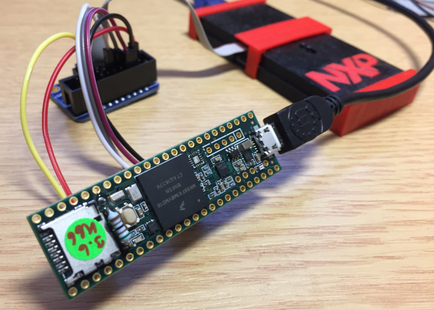 Teensy 3.6 with NXP LPC-Link2