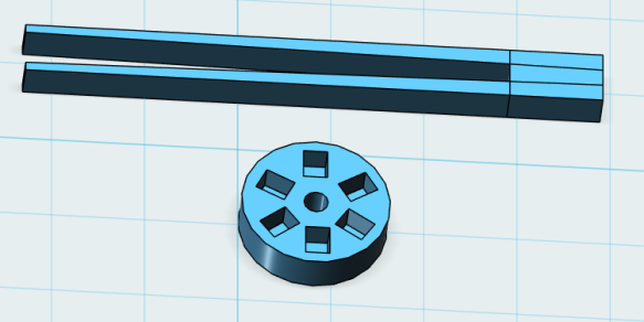 Tweezer and Encoder Disk 3D