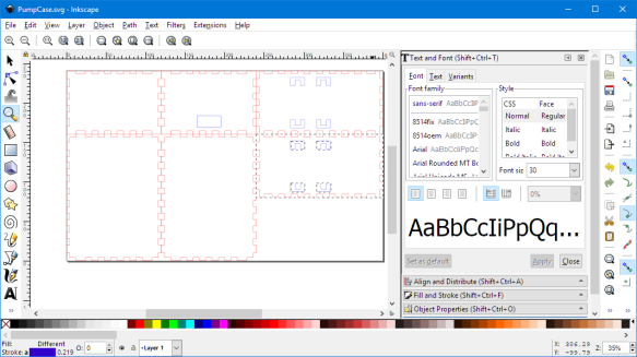 Box Design in Inkscape