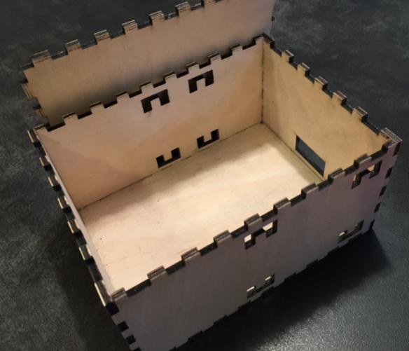 Laser Cut Plywood Box