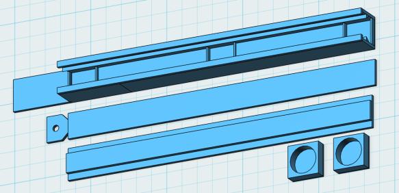 Tape Holder 3D Model