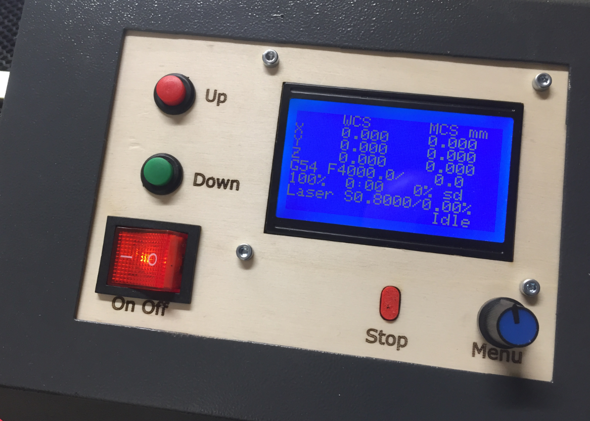 Upgrading a Laser Cutter with Cohesion3D Mini and LCD | MCU