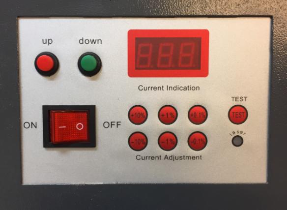 Laser Cutter Original Front Panel