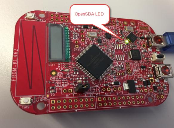 OpenSDA LED