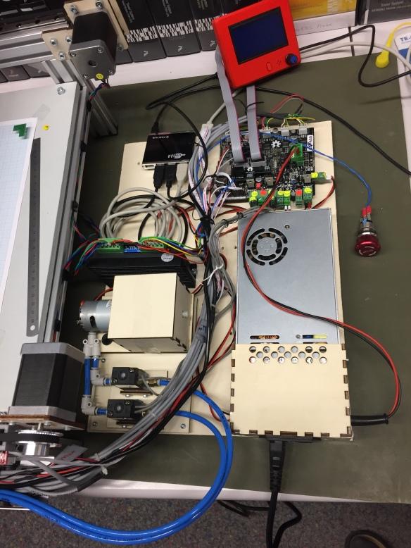 Electronics of PnP Machine
