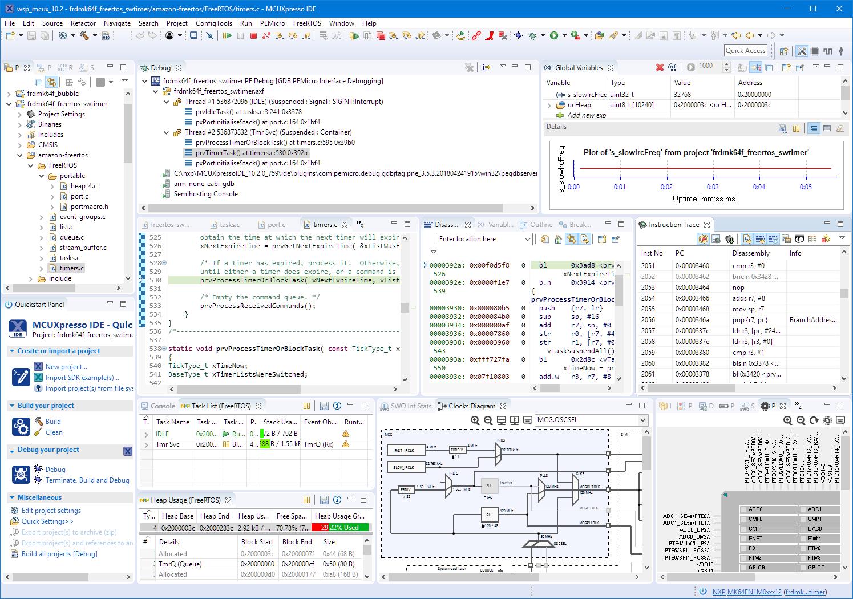 MCUXpresso IDE v10.2.0