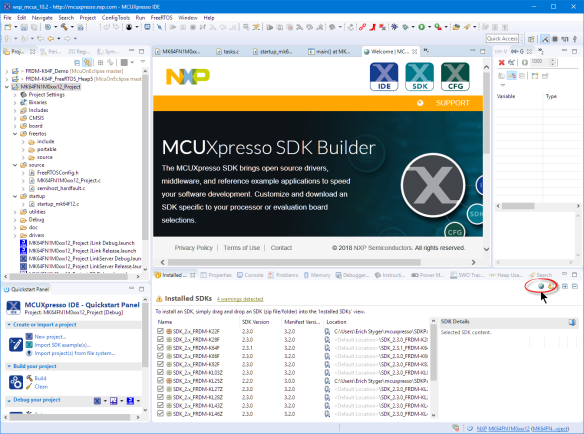 MCUXpresso SDK Builder