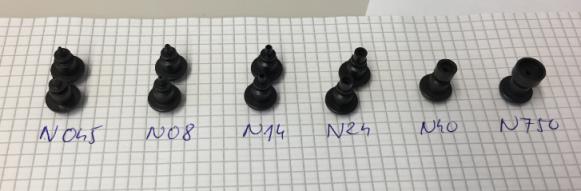 Different Nozzles