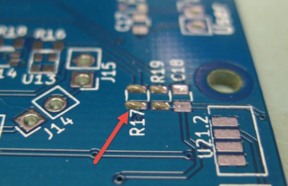 Solderpaste on PCB