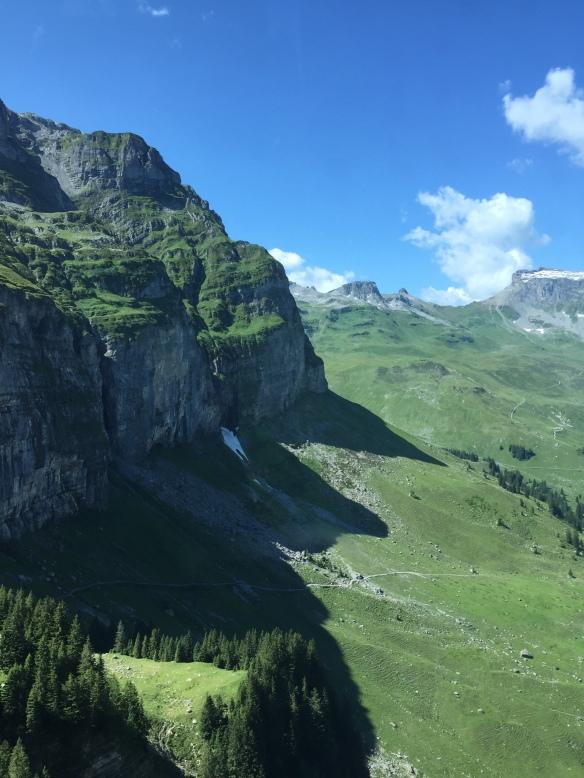 Hiking Trail up to the Glattalp