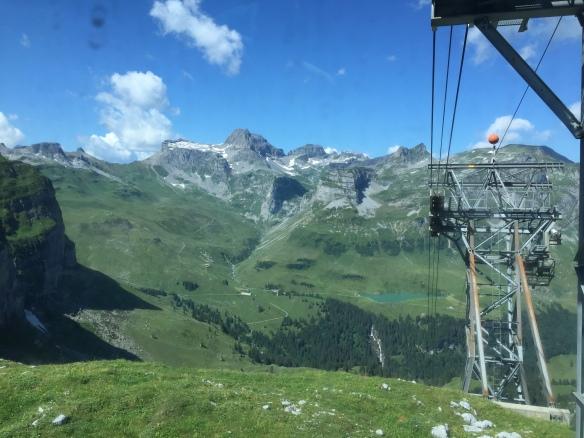 View back to Alpler Range