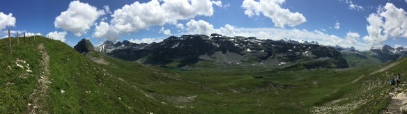 Hiking on the Charetalpfirst