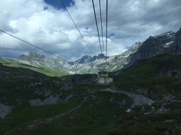 Glattalp Seilbahn Bergstation