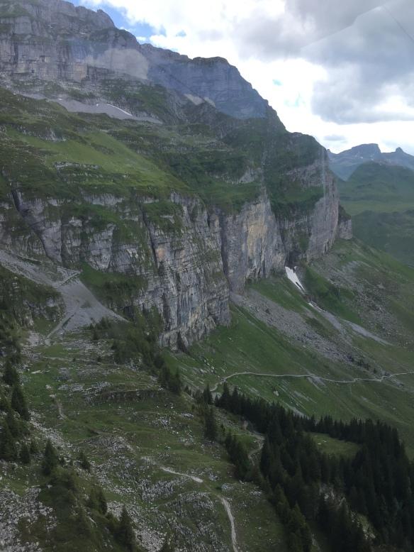 Bergpfad auf Glattalp