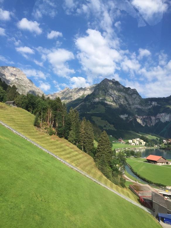 Funicular Railway up to Gerschnialp