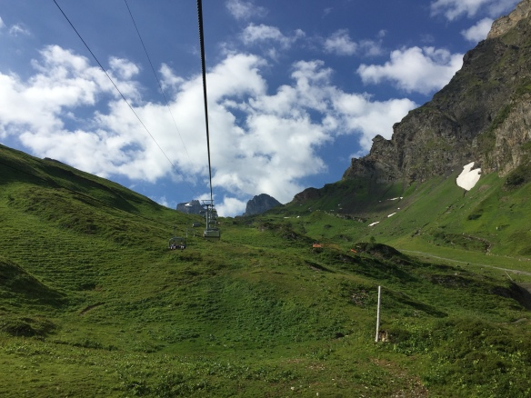 Lift up to the Jochpass