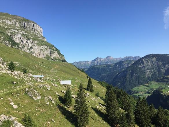 View back to Steinhütte
