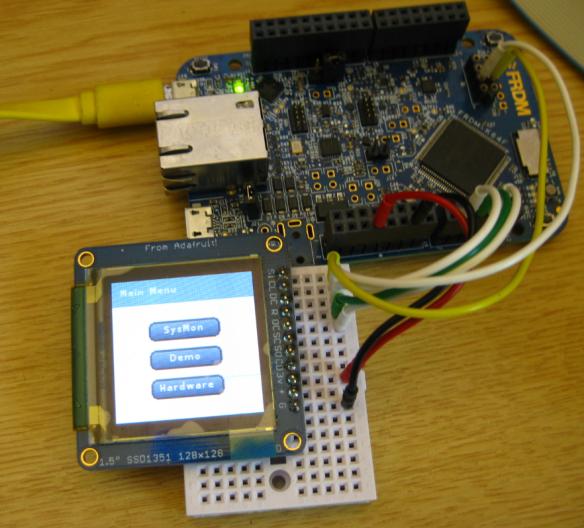 LittlevGL on FRDM-K64F
