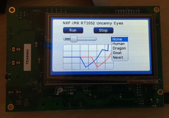 Open Source GUI on i.MX RT1050 EVKB