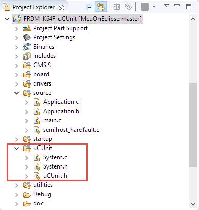 uCUnit Framework Files