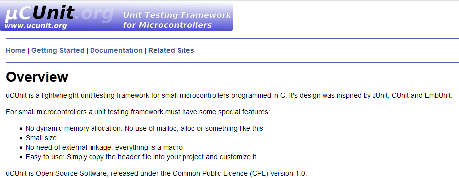 Tutorial: μCUnit, a Unit Test Framework for Microcontrollers
