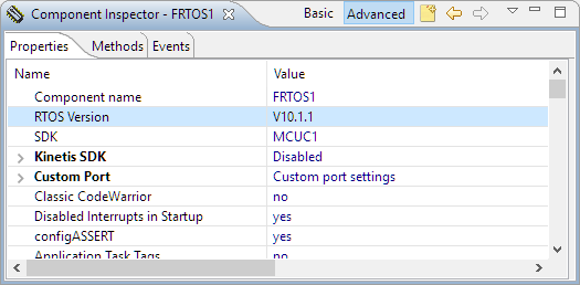 FreeRTOS 10.1.1