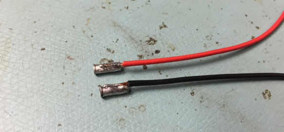 Thin Wires connected to Connectors