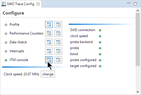 Adding ITM Console