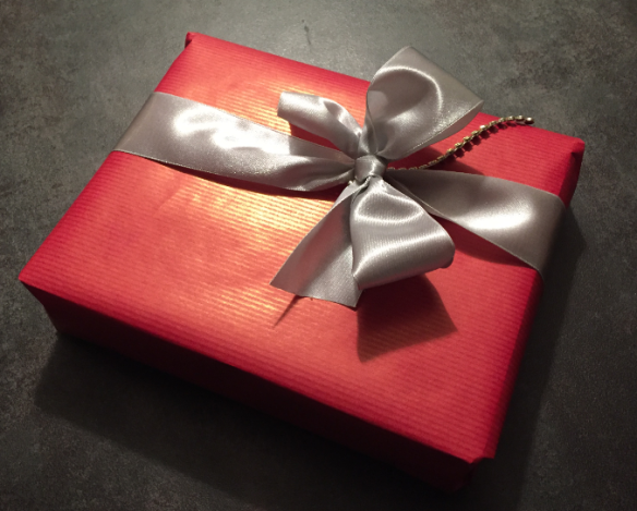Chistmas Gift Box Wrapped