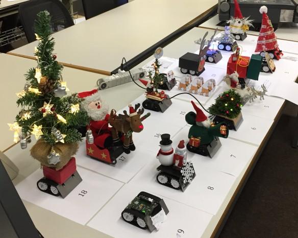 Christmas Sumo Robots