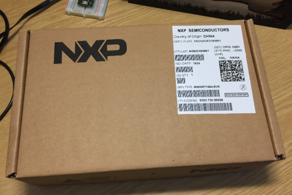 NXP i.MX RT1064 box