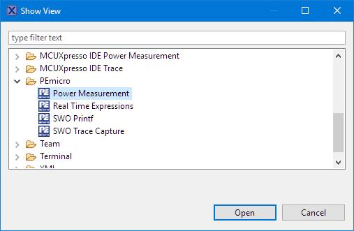 PEMicro Power Measurement