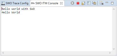 SWO ITM Console