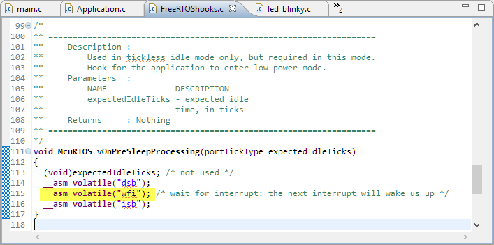 Regaining Debug Access to NXP i MX RT1064-EVK executing WFI | MCU on
