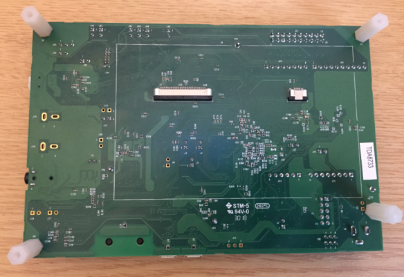 i.MX RT1064-EVK Board Bottom Side