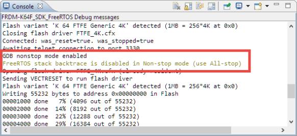 gdb non-stop mode