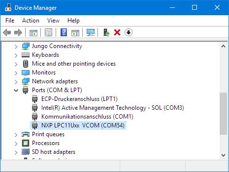 Virtual COM Port