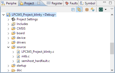 Blinky Project Created