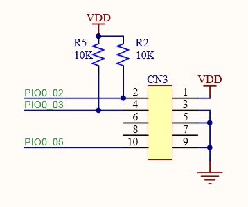 CN3 on LPC845-BRK